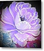Gorgeous Rose In Purple  Metal Print