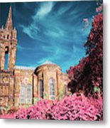 Gothic Style Chapel Metal Print