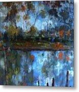 Goulburn Reflections Metal Print