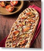 Gourmet Pizza Metal Print