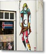 Graffiti By Deih In Reykjavik Metal Print