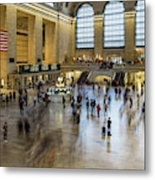 Grand Central Motion Metal Print