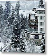 Grand Hotel Alpina Metal Print