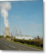 Grangemouth Petro-chemical Plant Metal Print