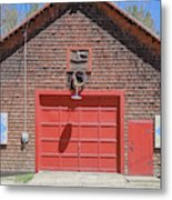 Grantham Barn With Quilt Squares Metal Print