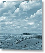 Grasslands Shadow Dance Metal Print