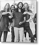 Grateful Dead Portrait Session In Sf Metal Print