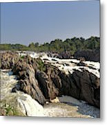Great Falls On The Potomac Panorama  Metal Print