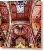 Great Synagogue, Budapest Hungary Metal Print