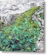 Great Wall Of China 201839 Metal Print