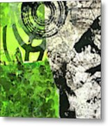 Green Balance No. 3 Metal Print