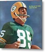 Green Bay Packers Max Mcgee, Super Bowl I Sports Illustrated Cover Metal Print