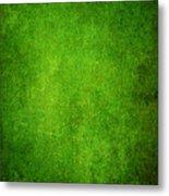Green Grunge Background Metal Print