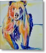 Grizzly Sprint  Metal Print