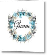 Groom Metal Print