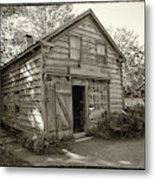 H. Brooks - Cabinet And Chair Maker -workshop Metal Print