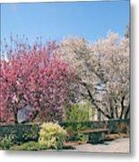 Springtime At Untermyer Park Metal Print
