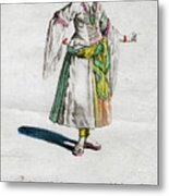 Habit Of A Lady Of Quality In Barbary Metal Print