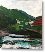 Hakone In Natural Splendor Metal Print