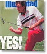 Hale Irwin, 1990 Us Open Sports Illustrated Cover Metal Print