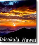 Haleakala Hawaii Metal Print