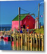 Halls Harbour Nova Scotia Metal Print