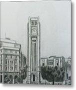 Hamedieh Clock Tower - Beirut Metal Print