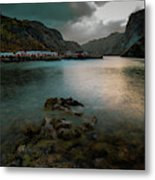 Hamnoy, Lofoten Islands Metal Print