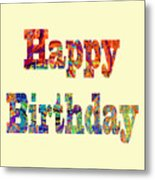 Happy Birthday 1007 Metal Print