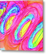 Happy Genes Metal Print