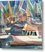Harbor Island Metal Print