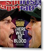 Harbowl Sunday There Will Be Blood Sports Illustrated Cover Metal Print