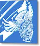 Harley Davidson Tank Logo Abstract Artwork Metal Print