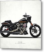 Harley Fxse Metal Print