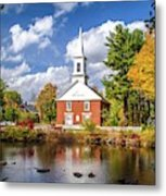 Harrisville, New Hampshire Church Metal Print