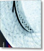 Hat Painting Metal Print