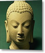 Head Of The Buddha, Sarnath Metal Print