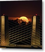 Here Comes Mister Moon 2 Metal Print