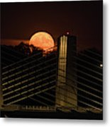 Here Comes Mister Moon 3 Metal Print