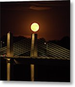 Here Comes Mister Moon 4 Metal Print