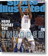 Here Comes The Thunder How Far Behind Is The Reign Sports Illustrated Cover Metal Print