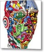 Heroic Mind Metal Print