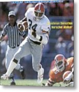 Herschel Walker, November 17, 1980 Sports Illustrated Cover Sports Illustrated Cover Metal Print