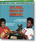 Hey, Man, Thats My Heisman 1979 College Football Preview Sports Illustrated Cover Metal Print