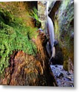 Hidden Falls Sombrio Beach 2 Metal Print