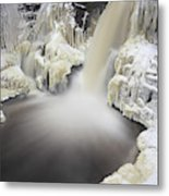 High Falls Pool Metal Print