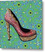 High Heel Party Metal Print