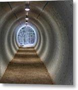 Highway Underpass In Pigeon River Provincial Park Metal Print