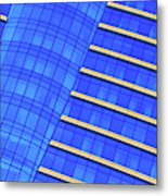 Hilton Blues Metal Print