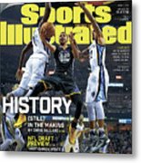 History still In The Making Sports Illustrated Cover Metal Print